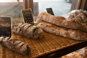 Artisan bread crafted with carefully selected ingredients.
