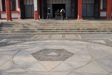 Kurama-dera's power spot