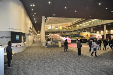 Kyoto Railway Museum: main building