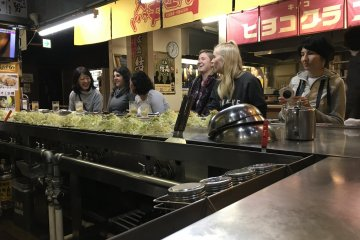 Otama No Kyabetsu okonomiyaki restaurant near Hiroshima station