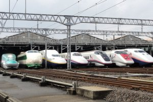 Speedy travel on the Japanese Shinkansen