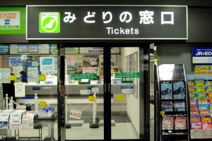 Midori no Madoguchi is where to go for ticket reservations