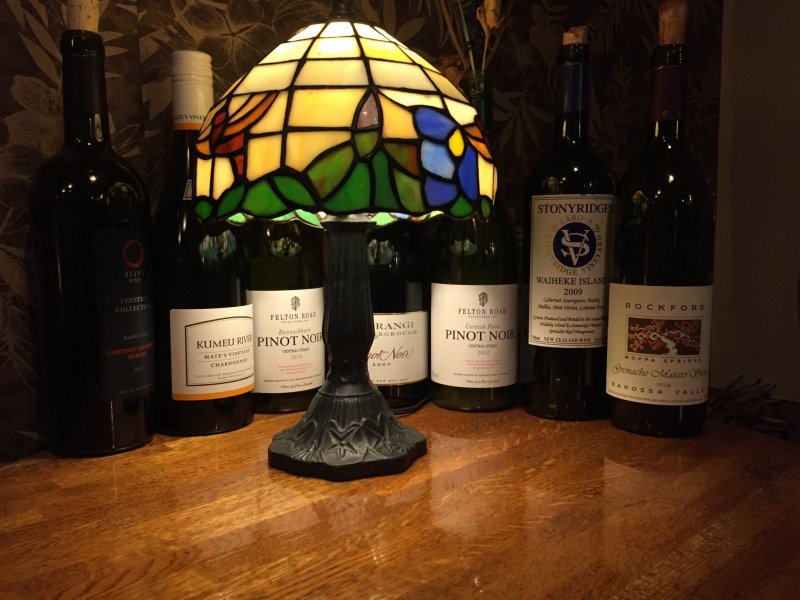 Rangitoto's extensive New Zealand wine selection