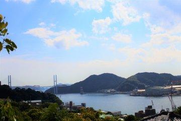 The scenery of Nagasaki Port