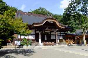 Jindai-ji Temple, home to the Bonsho Temple Bell
