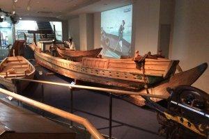 The last nori boat, Omori Nori Museum