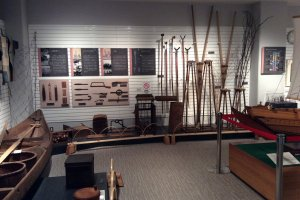 Tools used in traditional nori production, Omori Nori Museum