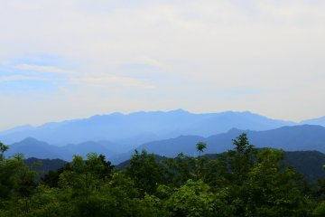 The incredible view from the top of Mt. Takao