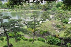 Kyu Shiba-rikyu Teien Garden