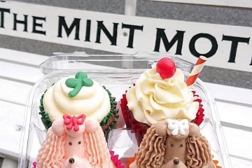 You can enjoy the cupcakes to-go