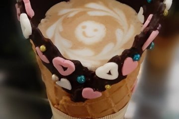 You still get the adorable latte art, too!
