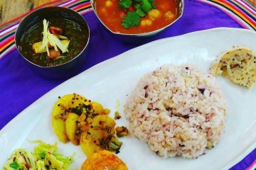 Cafe Niceness focuses on tarkari, a type of spicy curry