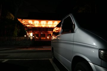 Free overnight stay at the gates of Mt. Koya