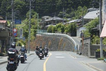 Easy Riding in the mountains of Saitama