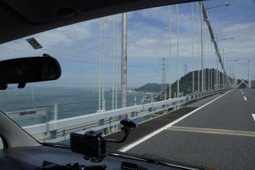 Crossing from Honshu to Kyushu