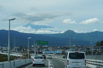 M. Fuji on the way to Hakone