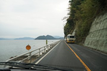 Many roads cling to the cost offering beautiful views of the sea