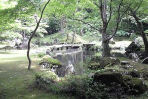 Kitabatake Gardens are lovely