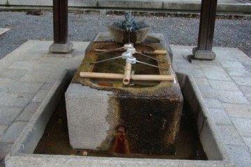 洗礼的圣水