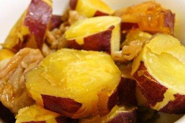 Satsuma imo sweet potato