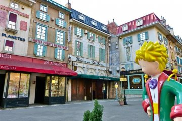 A museum dedicated to the children's classic The Little Prince