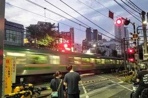 Shinjuku train