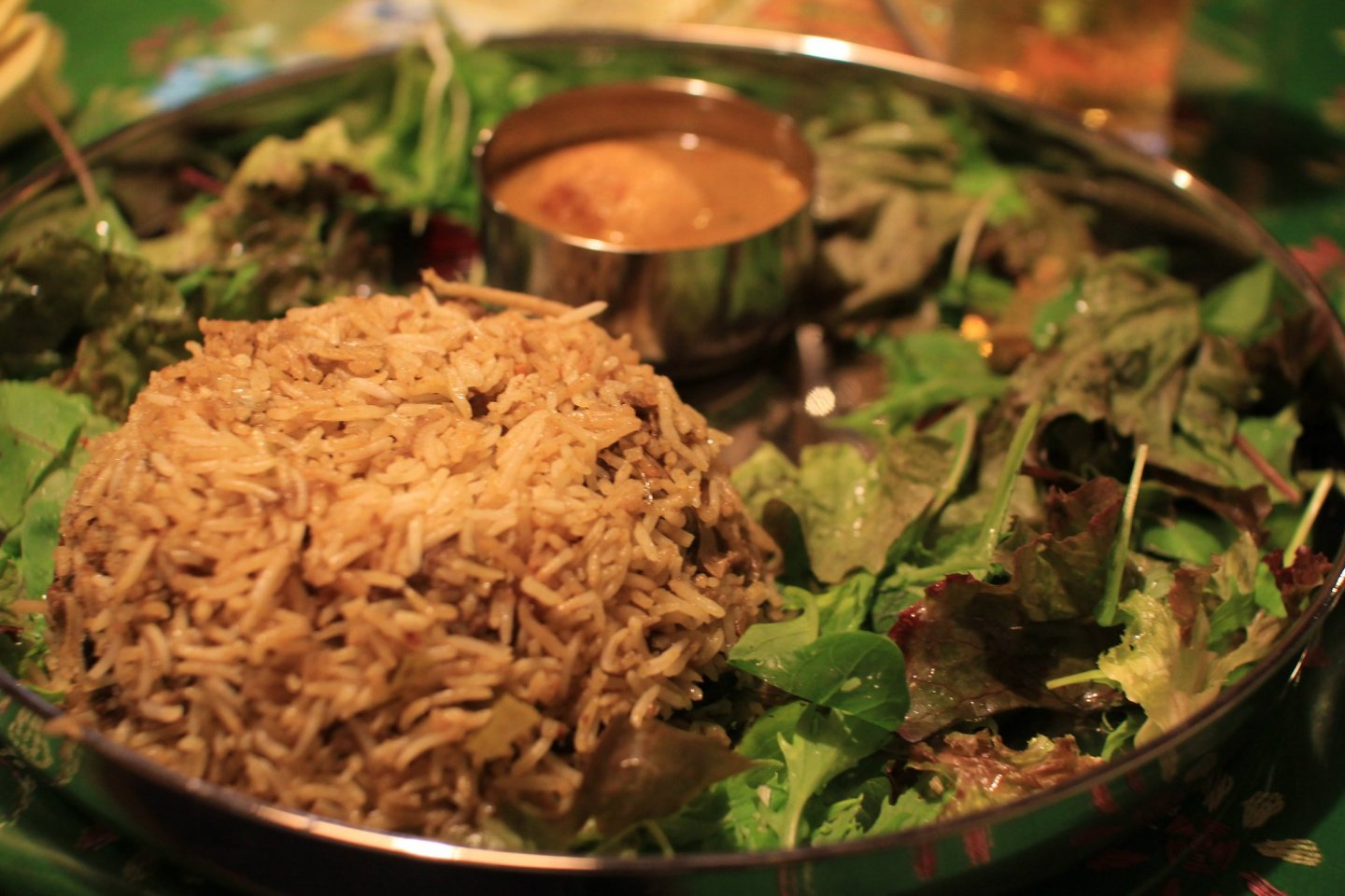 Biryani is a popular dish