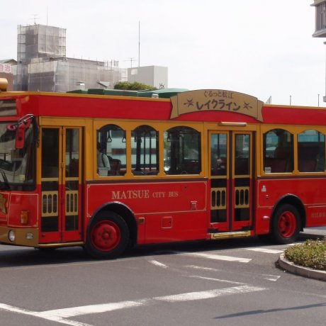 Matsue's Lake Line Bus