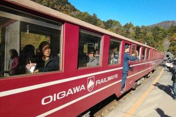 Standard train used from Senzu Station