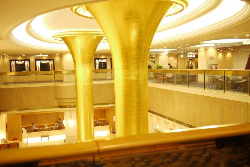 Okura Act City lobby