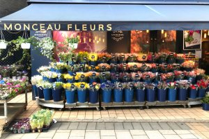 This flower shop in Jiyugaoka even has a French name