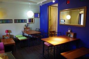 咖啡廳與客廳用開放式設計
