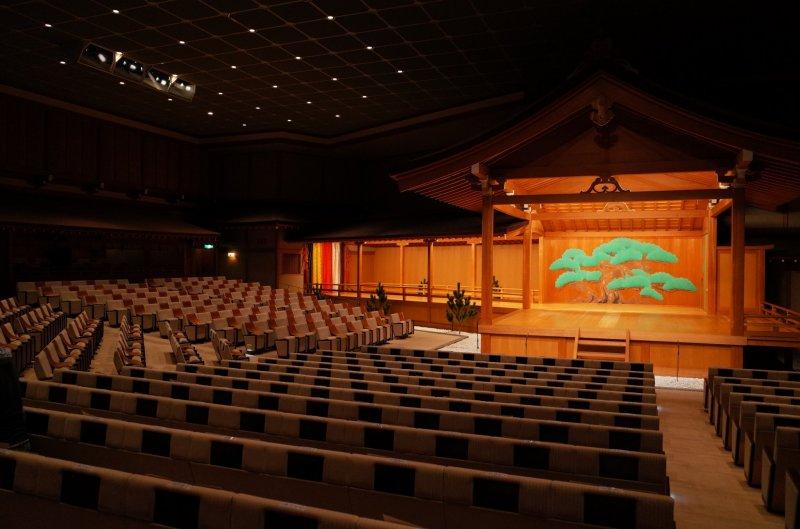 The beautiful Nohgaku National Theatre  ©Tatsuya Shiraishi
