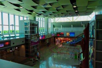 Inside modern Kushiro Airport
