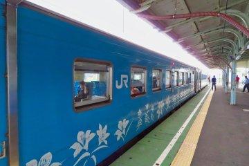 Train from Nemuro to Kushiro