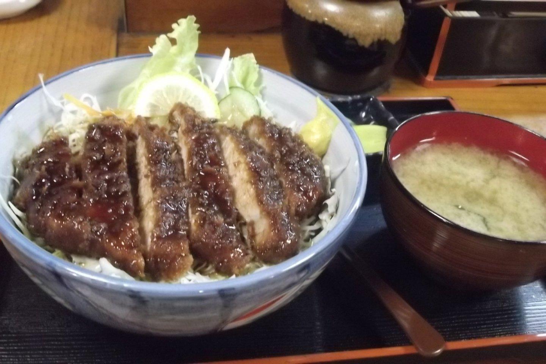 Tasty \'Sauce Katsudon\'!