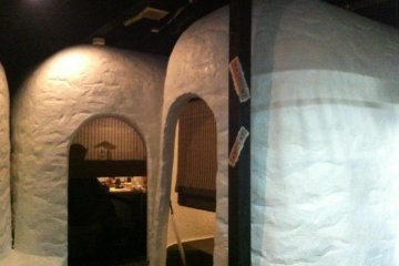 """private dining room facilities in the """"kamakura"""""""