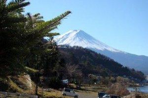 富士山一窥