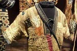 Attush bark clothing, Hokkaido