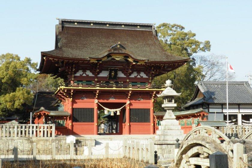 Iga Hachiman Shrine, Okazaki