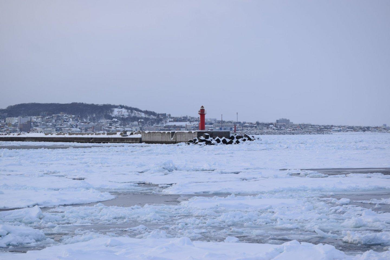 Icy Monbetsu in Winter
