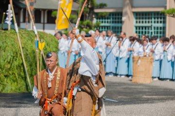 Фестиваль Гома в храме Нёидзи