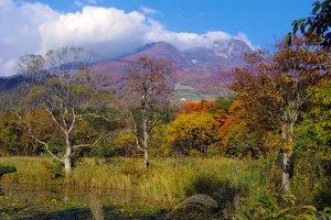 The Myoko plateau in autumn