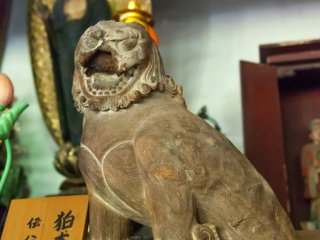 秀吉の家臣・僧侶利新左衛門作「狛犬」