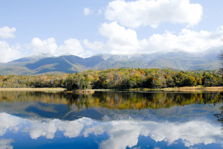 Shiretoko-Goko (Shiretoko Five Lakes) in Autumn, Hokkaido, Japan