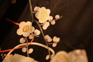 Yuzen techniques are often used in kimono production