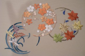 Kyo-nui embroidery, Kyoto prefecture