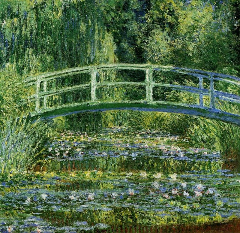 One of Monet's iconic pieces from his Water Lilies series