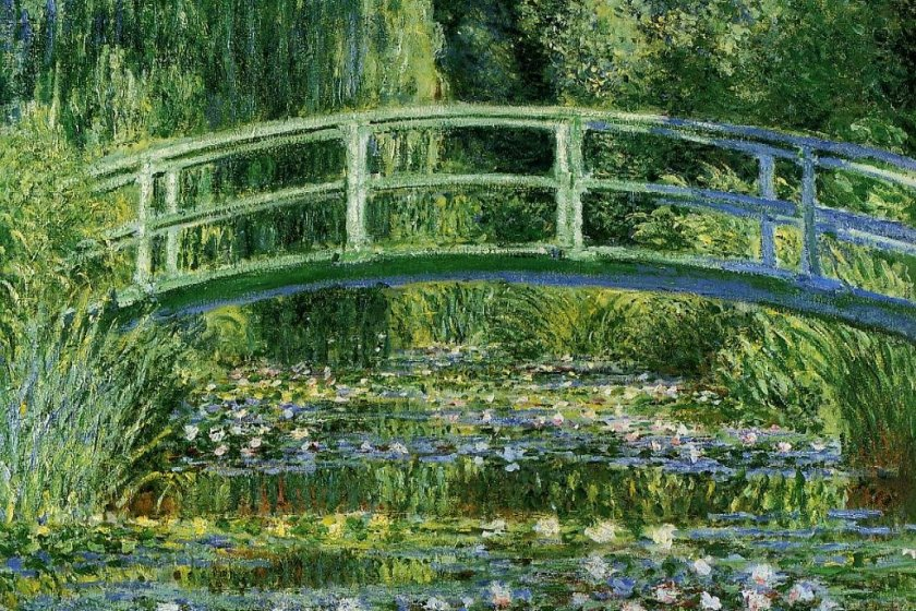 One of Monet\'s iconic pieces from his Water Lilies series