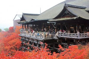 Kiyomizu burns bright in autumn